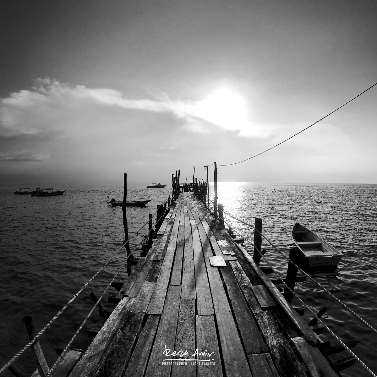 Photograph Out to the open sea by Reza Amir on 500px