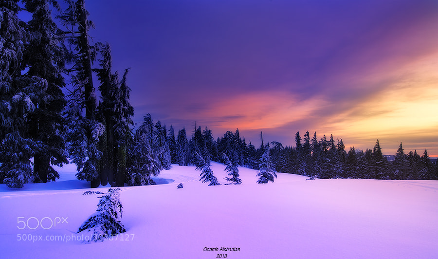 Photograph Crater Lake by Osamh Alshaalan on 500px