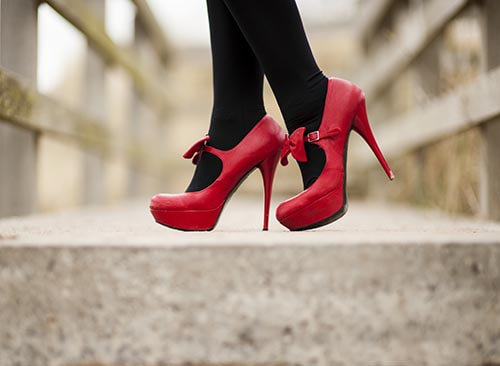 Photograph The Power of Red - Killer Heels - Black Stockings by IainGordon on 500px