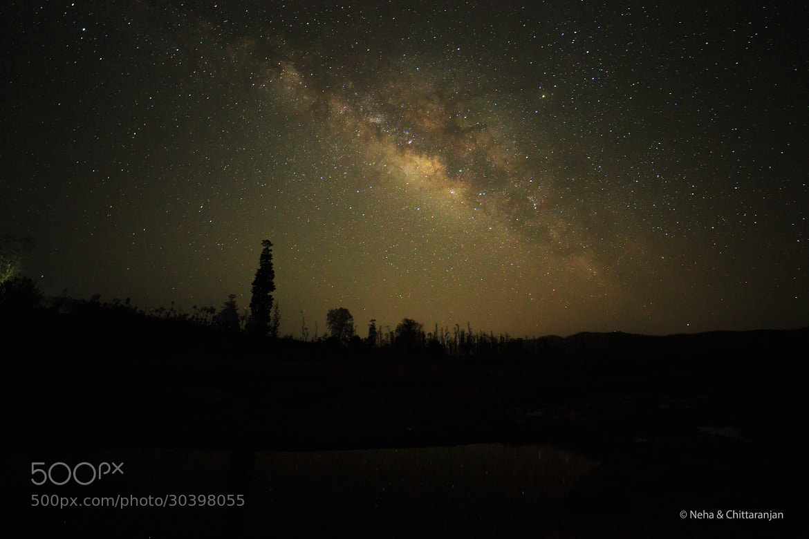Photograph A Place Where My Home Is - Milky Way by Neha & Chittaranjan Desai on 500px