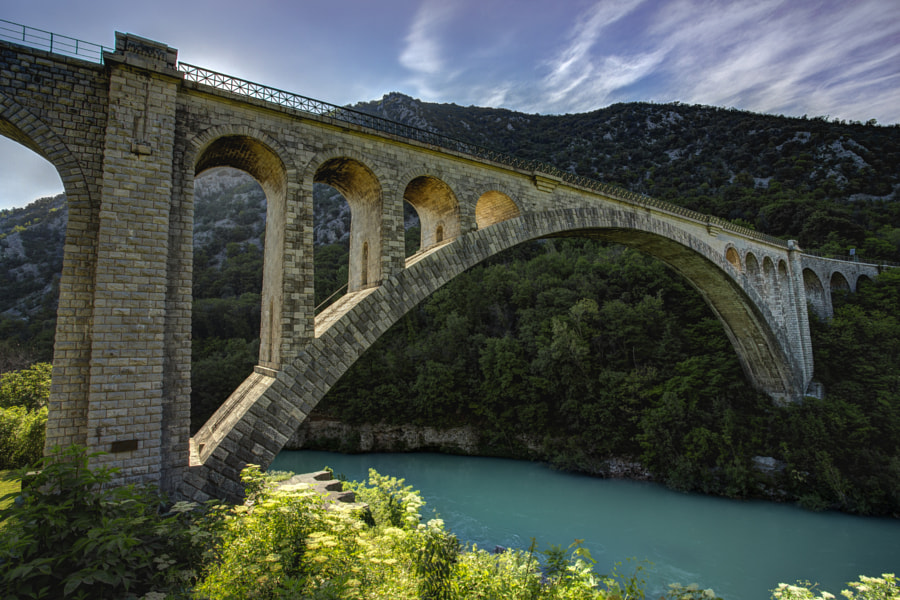 Solkan Bridge by Jure Batagelj on 500px.com