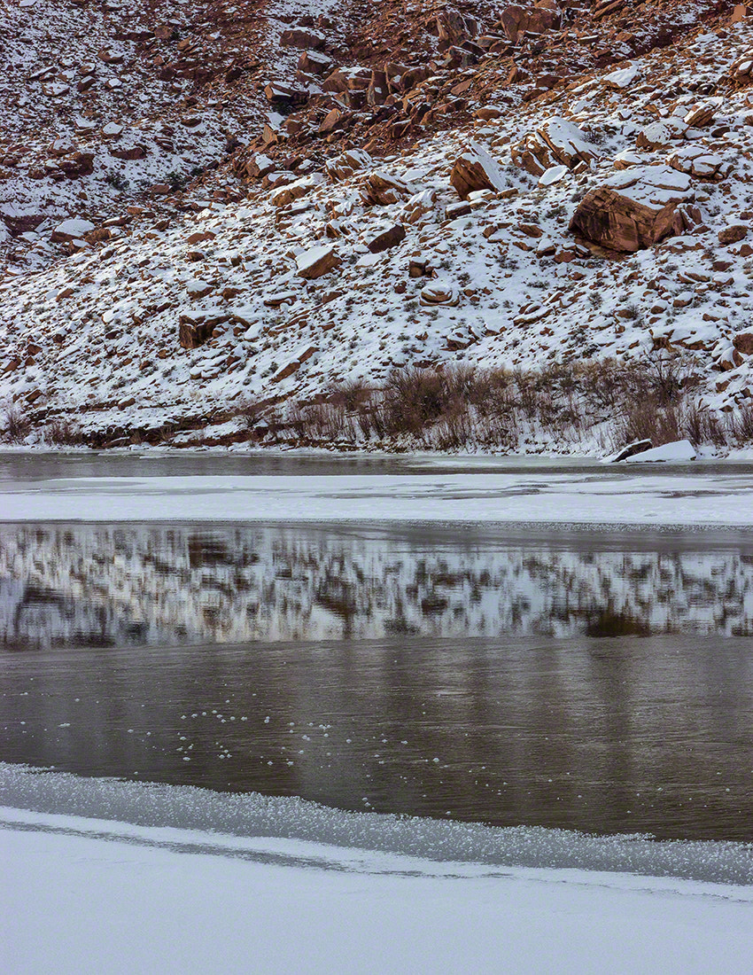 Photograph COLORADO RIVER ON ICE by Deborah Hughes on 500px