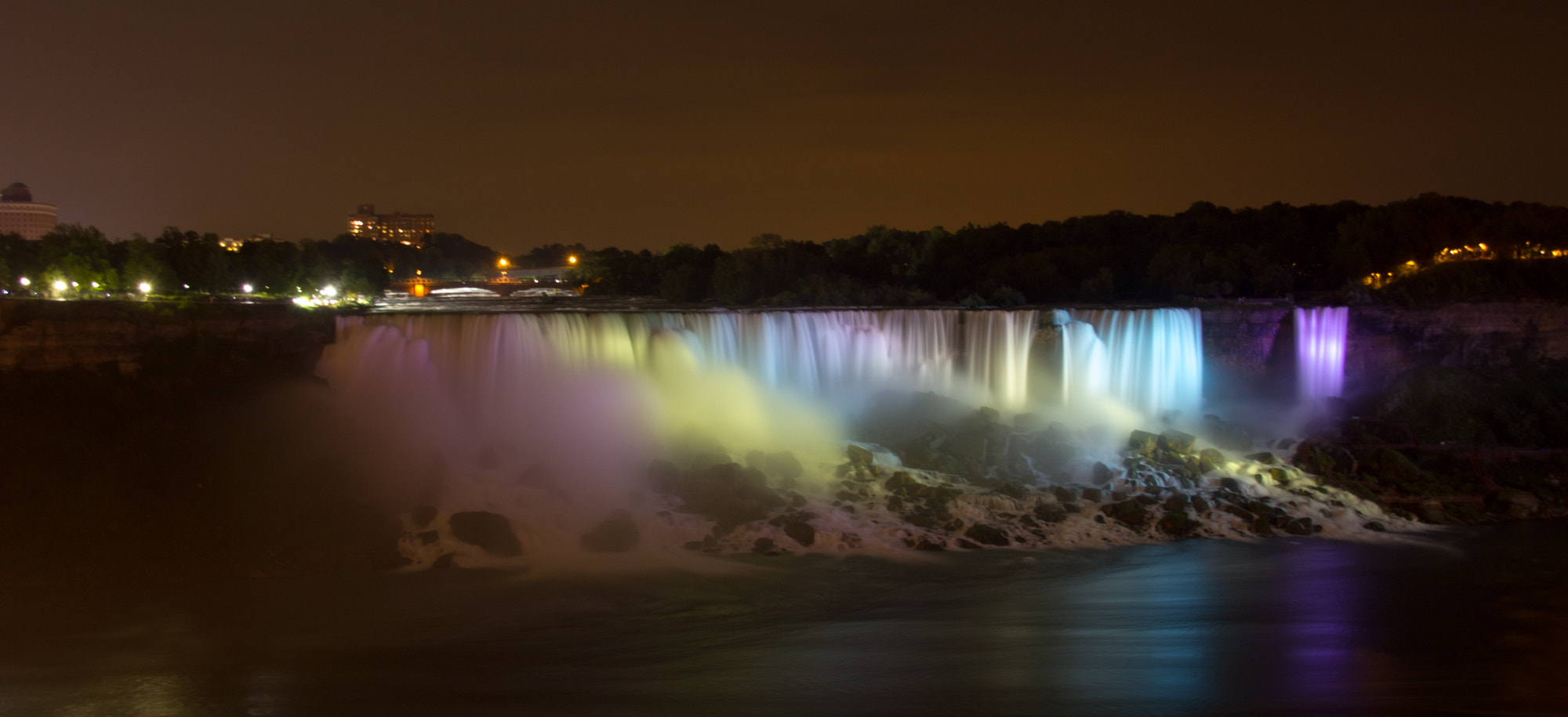 Photograph Niagara Falls at Night by Hans Fischer on 500px