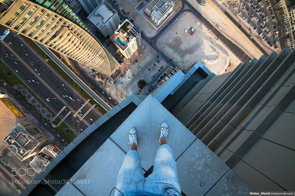 Photograph Acrophobia by Marat Dupri on 500px
