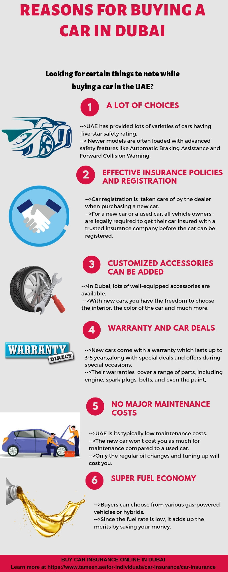 Reasons for buying a car in dubai