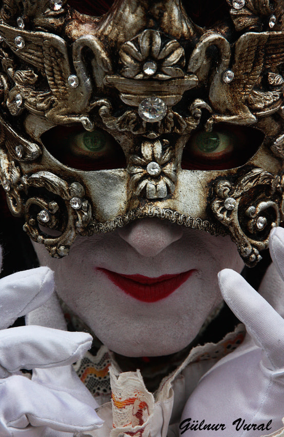 Photograph VENICE CARNEVAL  2013 by gülnur  vural on 500px
