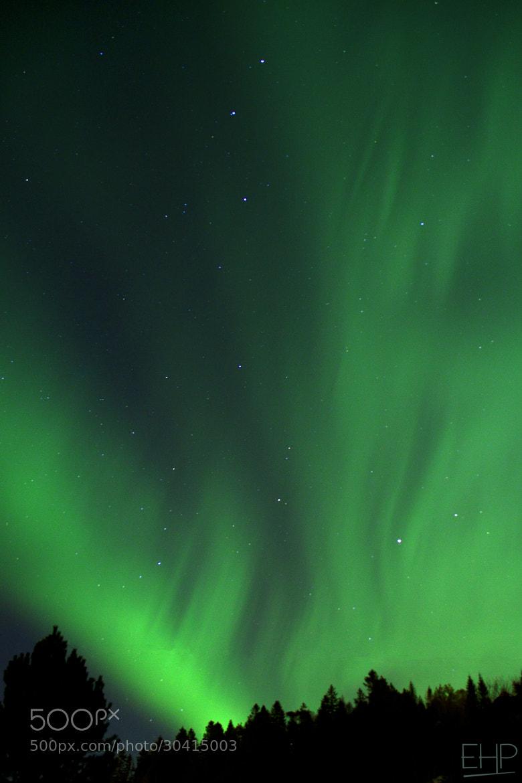 Photograph Aurora borealis by Eivind Hamran on 500px