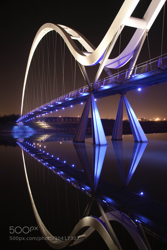 Photograph Stockton Infinity Bridge by Rob Colclough on 500px