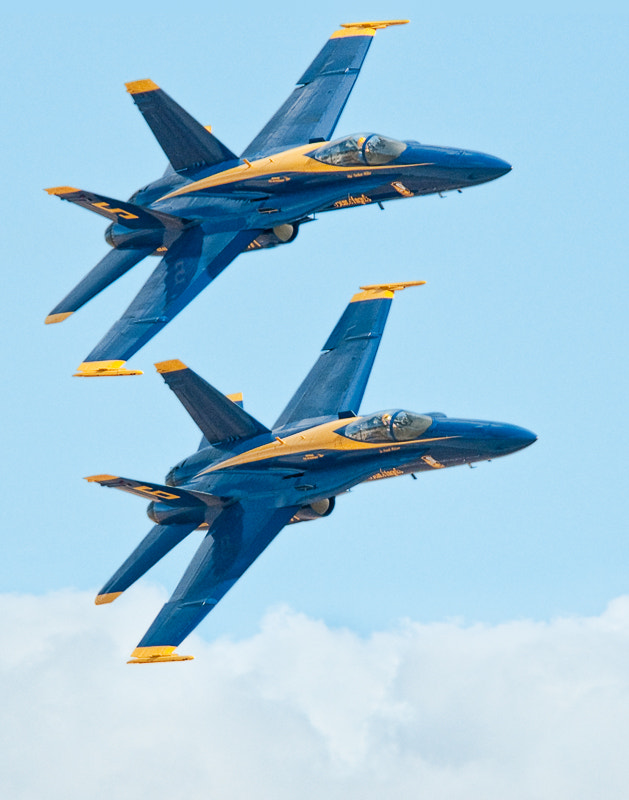 Photograph Blue Angels #5 and #6 by Dieter Schaefer on 500px