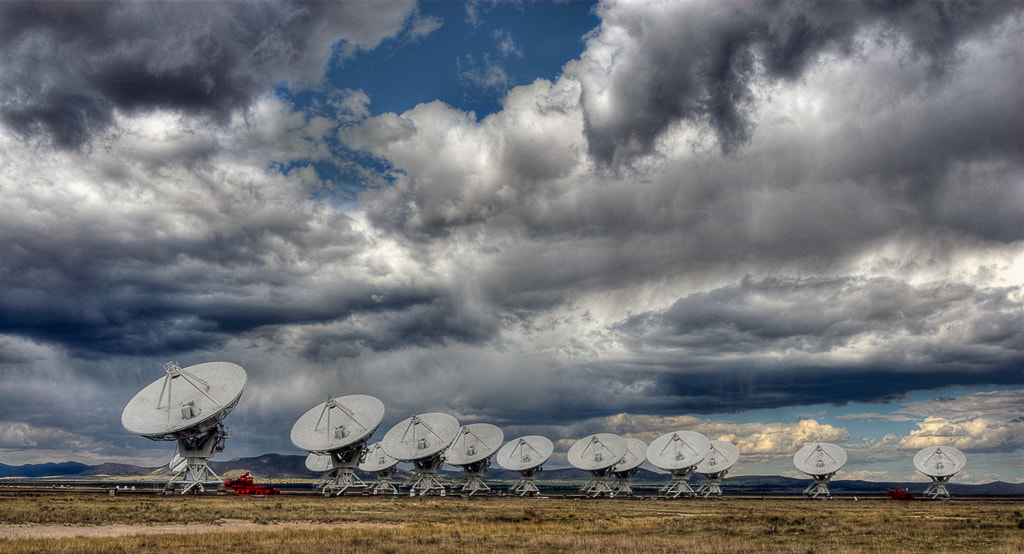 Photograph Very Large Array (VLA) Radiotelescopes by Dieter Schaefer on 500px