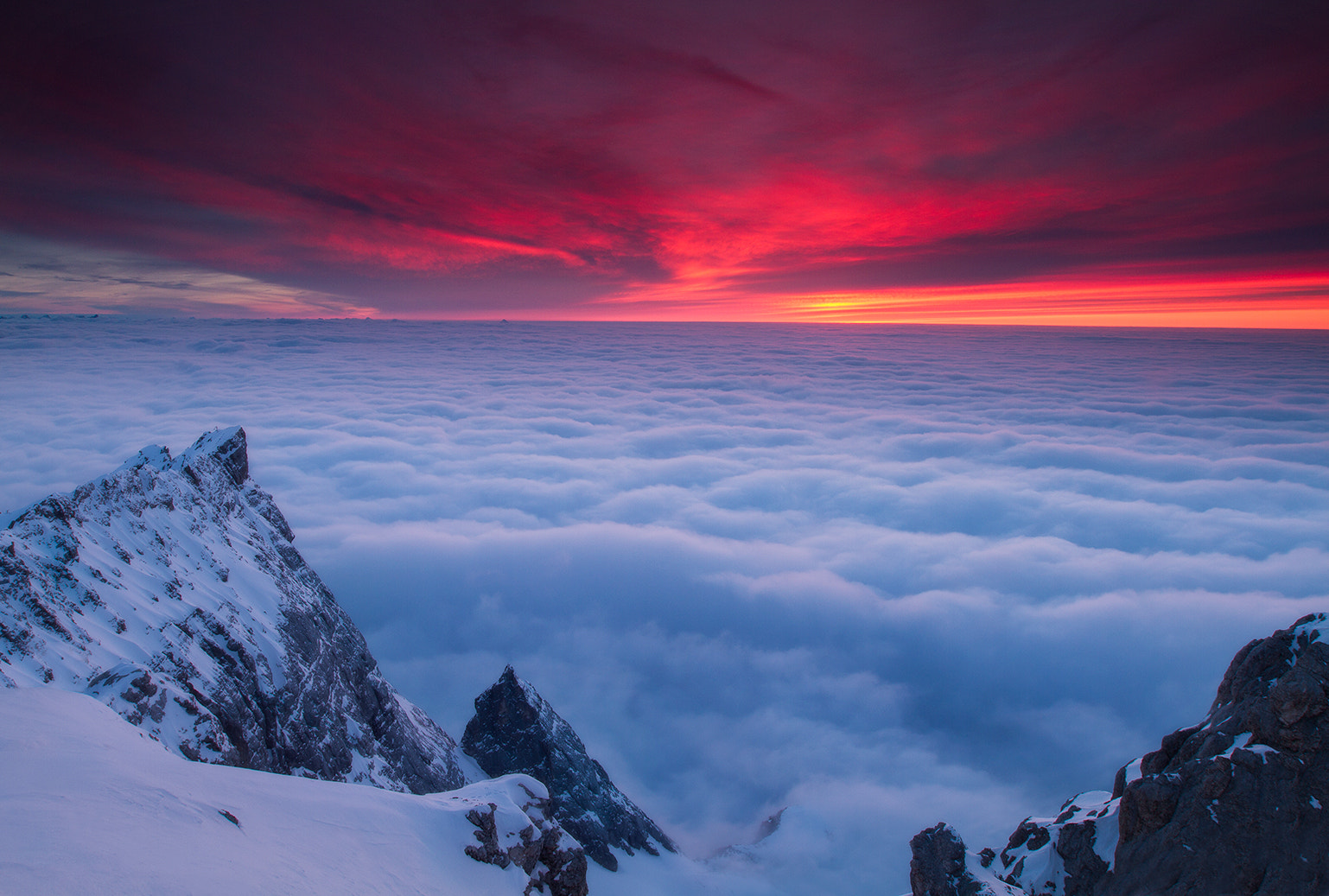 Photograph Above a Sea of Clouds by Brad Hays on 500px