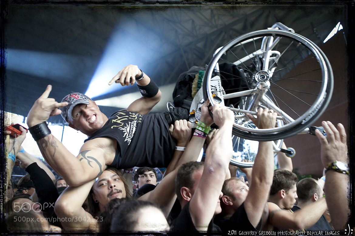 Photograph Crowd Surfing by Geoffrey Gribbin on 500px