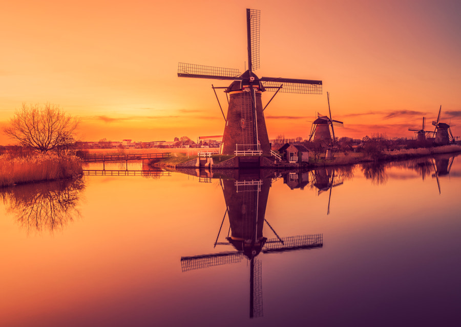Kinderdijk, Holland by Remo Scarfò on 500px.com