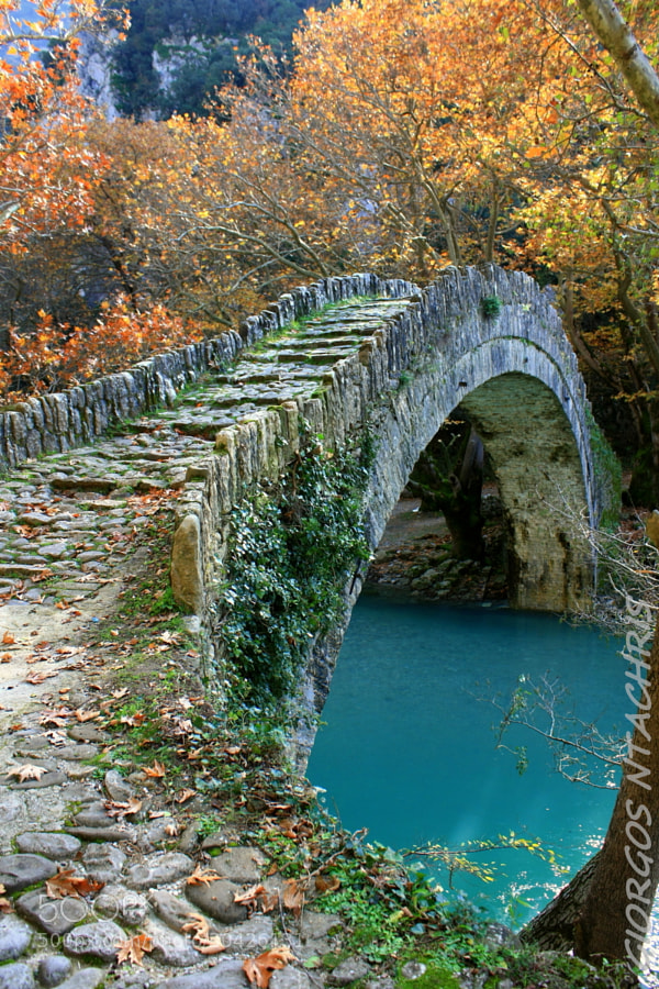 Photograph Kleidoniavistas bridge by Giorgos  Ntachris on 500px