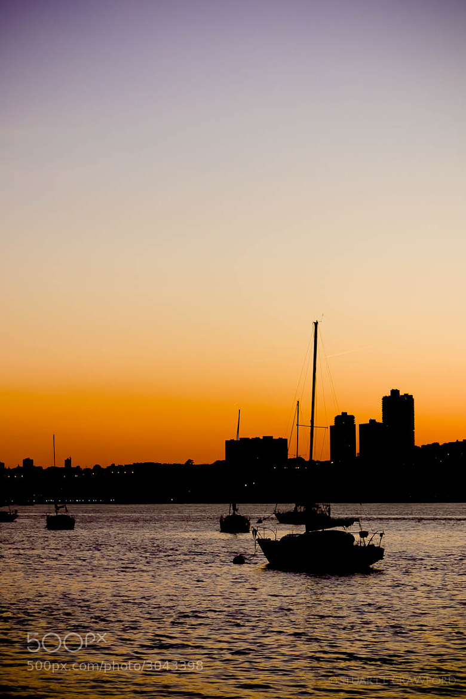 Photograph Hudson Sunset #3 by Stuart Crawford on 500px