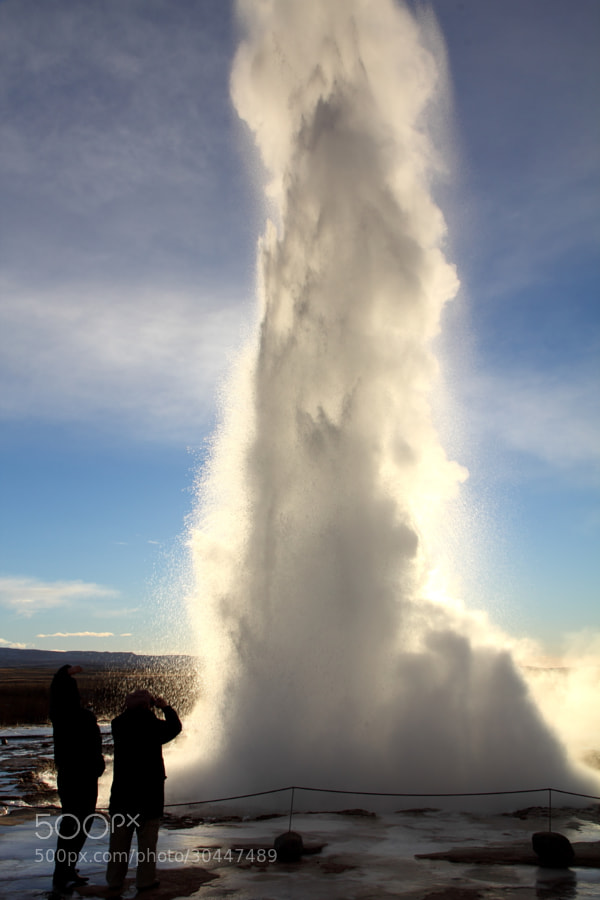 Strokkur Geyser by Luke Parr on 500px.com