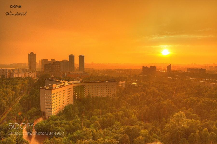 Photograph Sunset Rain (Дождь на закате) by Andrey Porutin on 500px