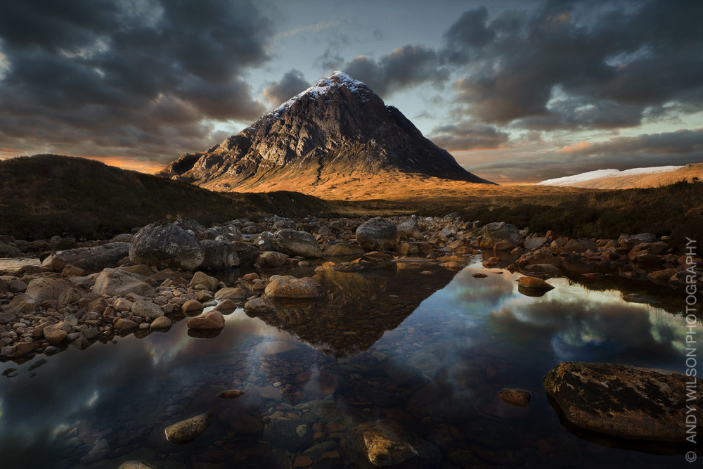 Photograph The Buchaille (Landscape) by Andy Wilson on 500px