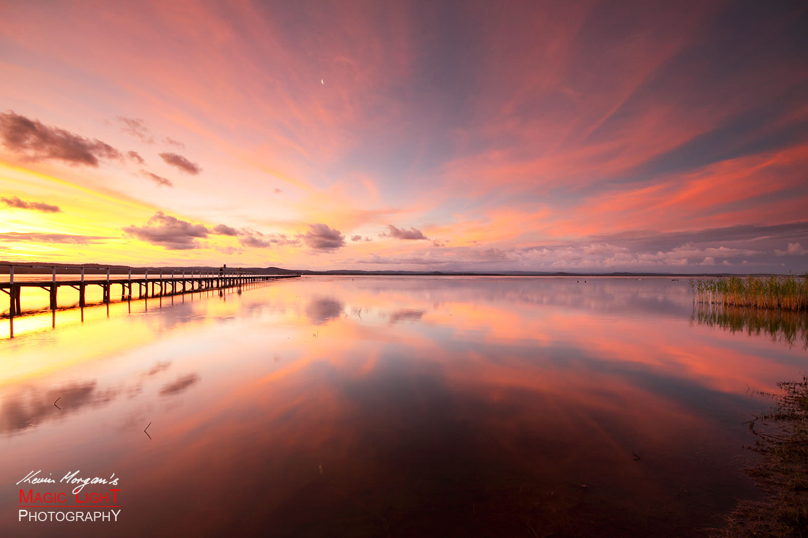 Photograph Sunset Reflections at Long Jetty by Kevin Morgan on 500px