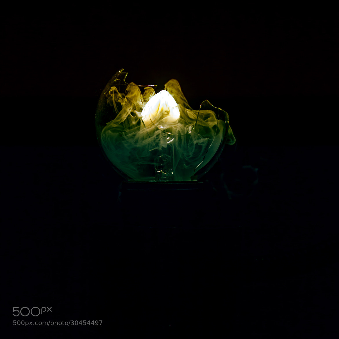 Photograph Burning lightbulb by Chris Meier on 500px
