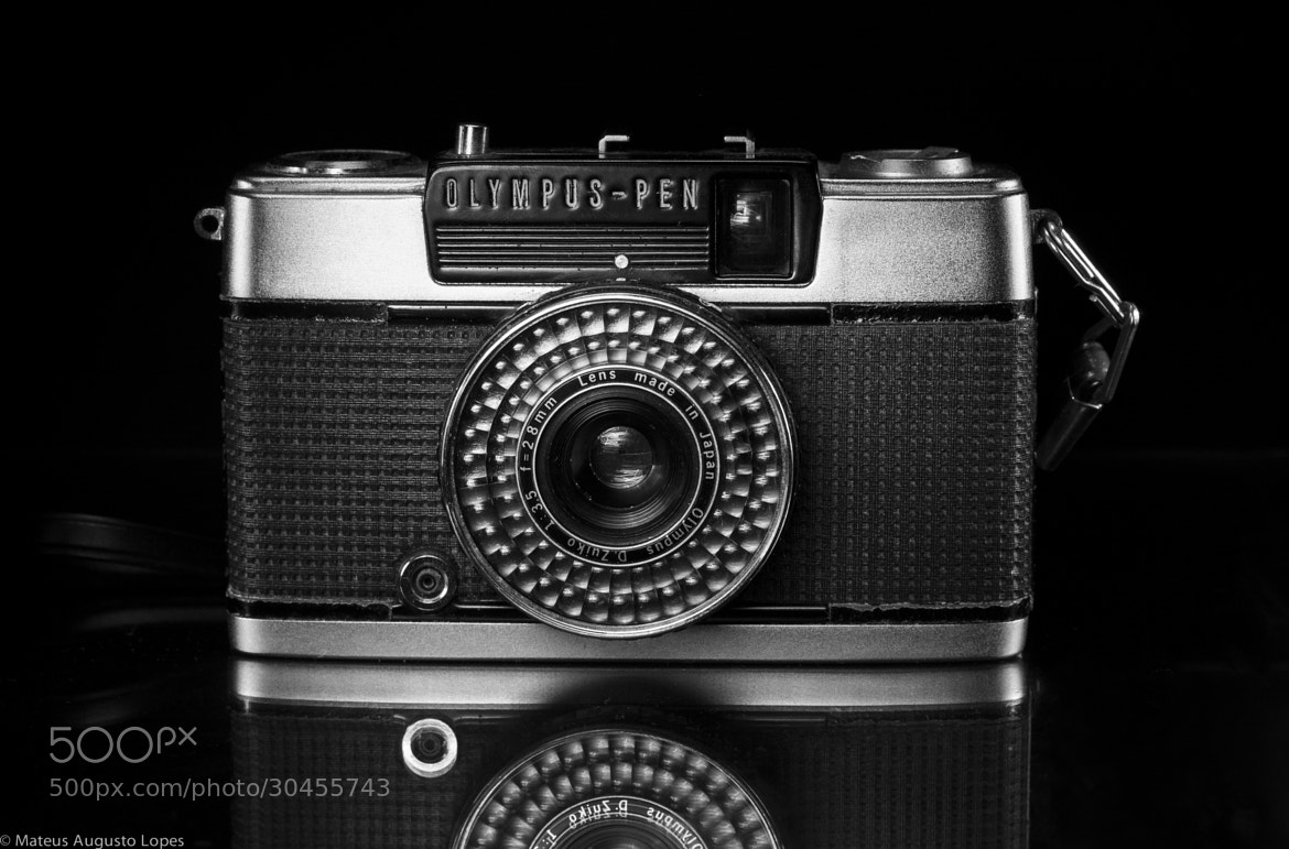 Photograph 1977 Olympus Pen EE-2 by Mateus Lopes on 500px