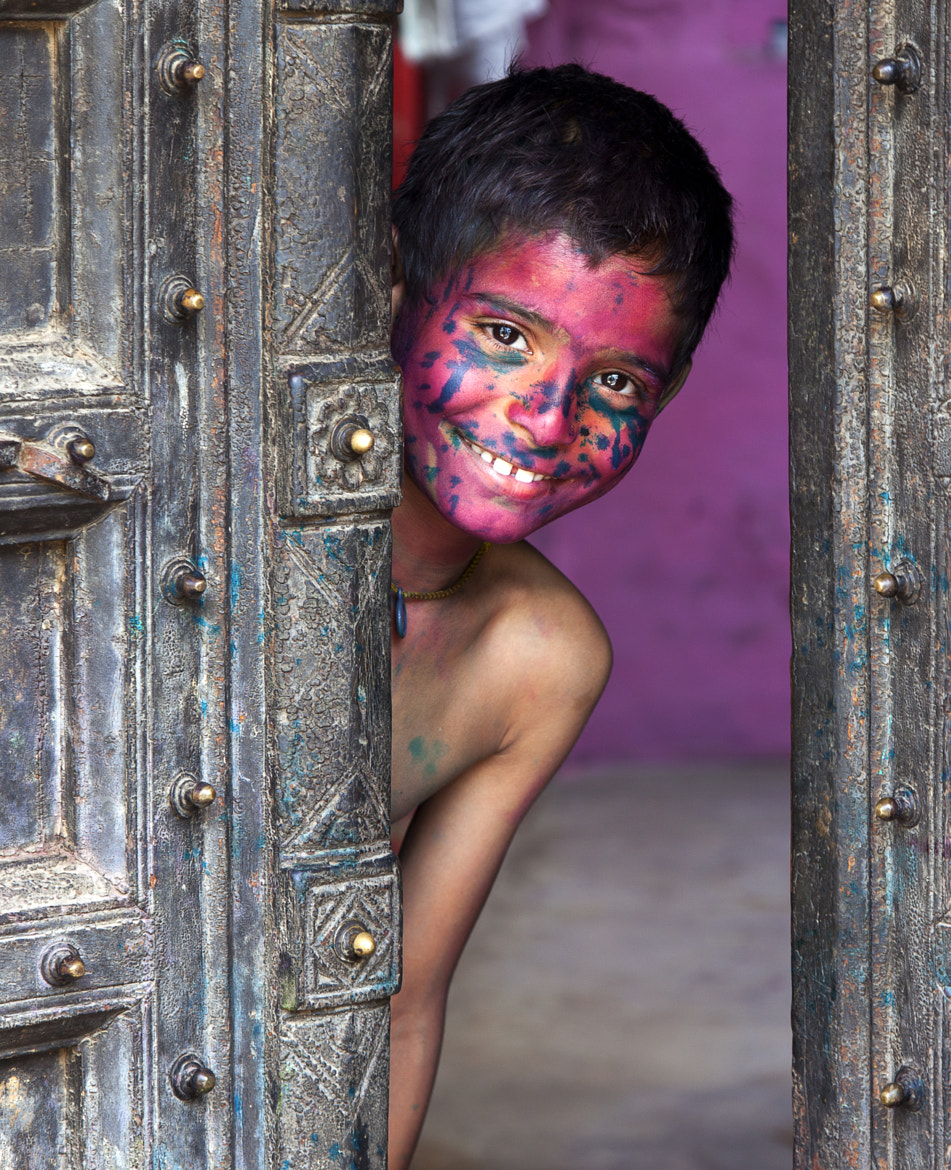 Photograph Happy at Holi by Jassi Oberai on 500px