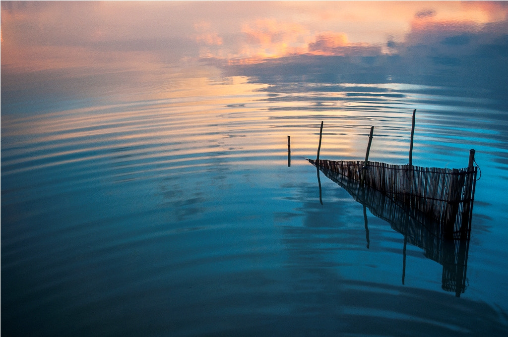 Photograph Rippling Sunset by Sourik Ghosh on 500px