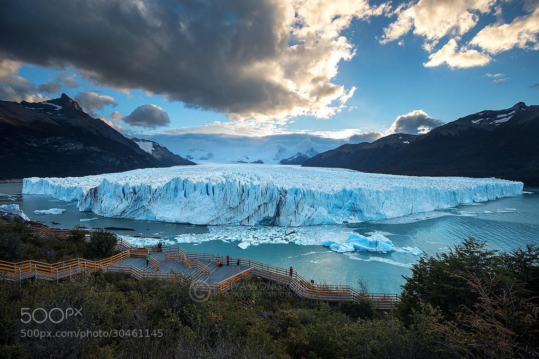 Photograph Vastness of Glacier by Pete Wongkongkathep on 500px