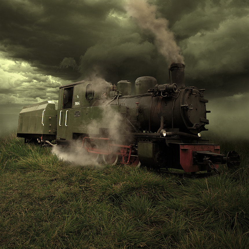 Photograph Last train to Transcentral by Tomasz  on 500px