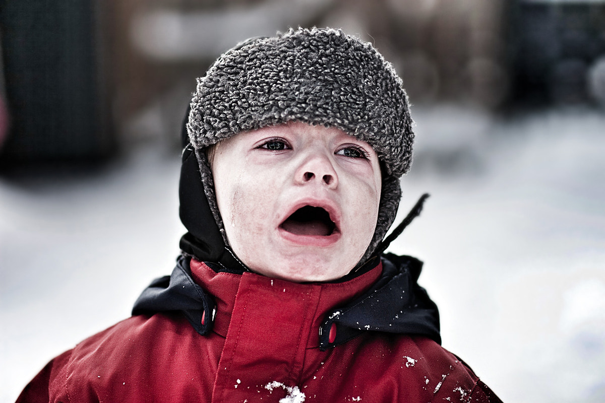 Photograph Oskar crying... by Blender2  on 500px