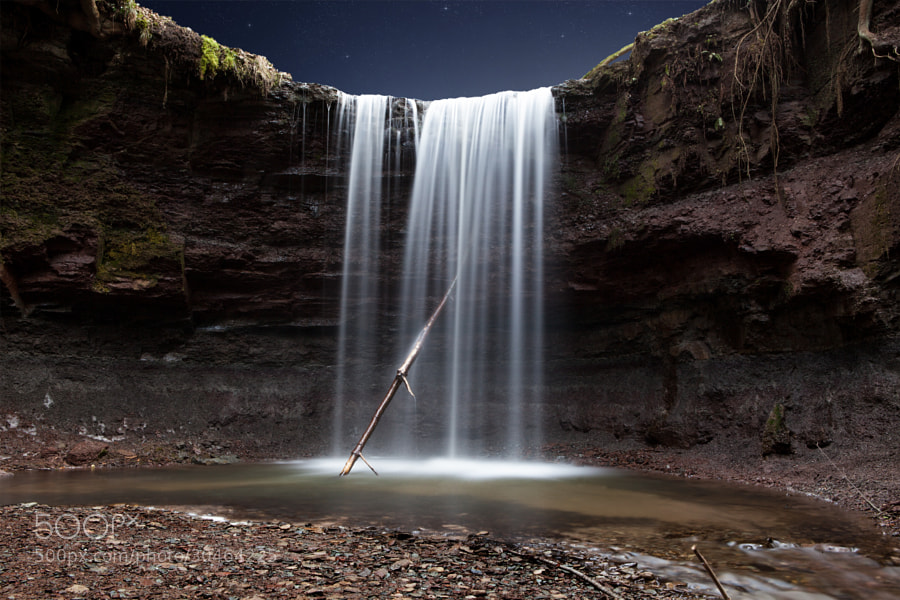 Photograph midnight falls by Kevin Wenzler on 500px