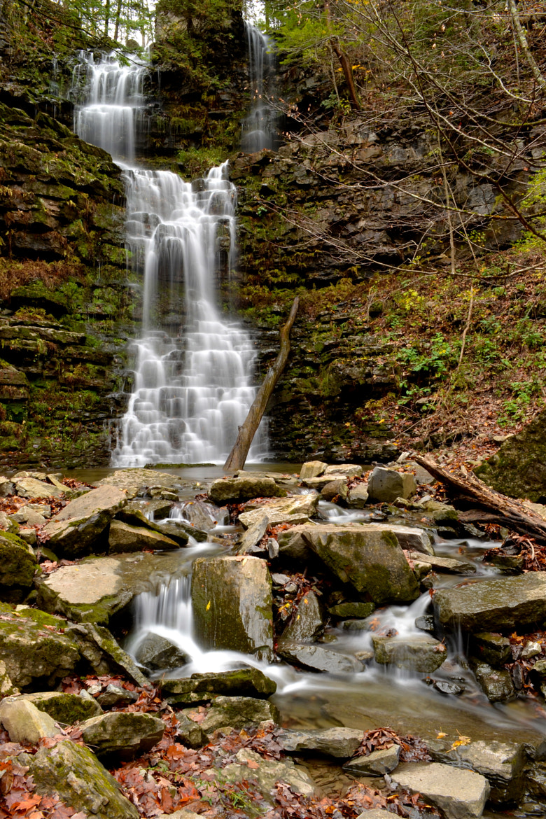 Photograph Falls in Fall by Michael Fey on 500px