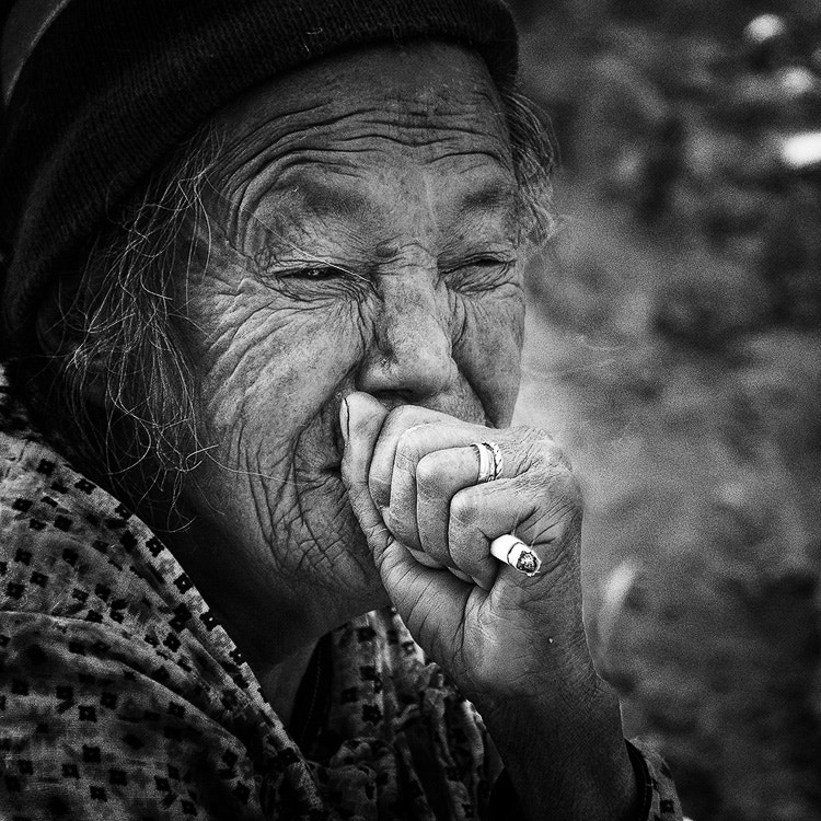 Photograph Smoking nepali style by Sam Dobson on 500px