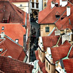 Czech Republic - Roofs on Melantrichova by Fabrizio  Fenoglio on 500px.com