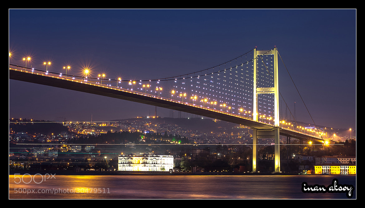 Photograph Bosphorus Bridge - Istanbul by Inan Aksoy on 500px