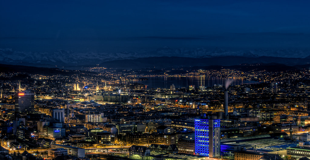 Photograph Zürich by Night by Oriano Comuzzi on 500px