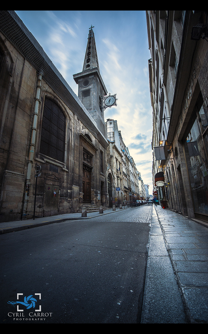 Photograph Ile Saint Louis  by Cyril Carrot  on 500px