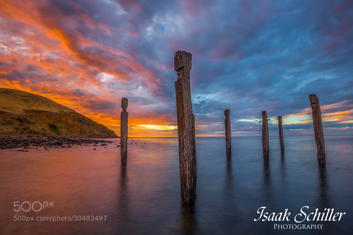 Photograph Ancient Jetty by Isaak  Schiller on 500px