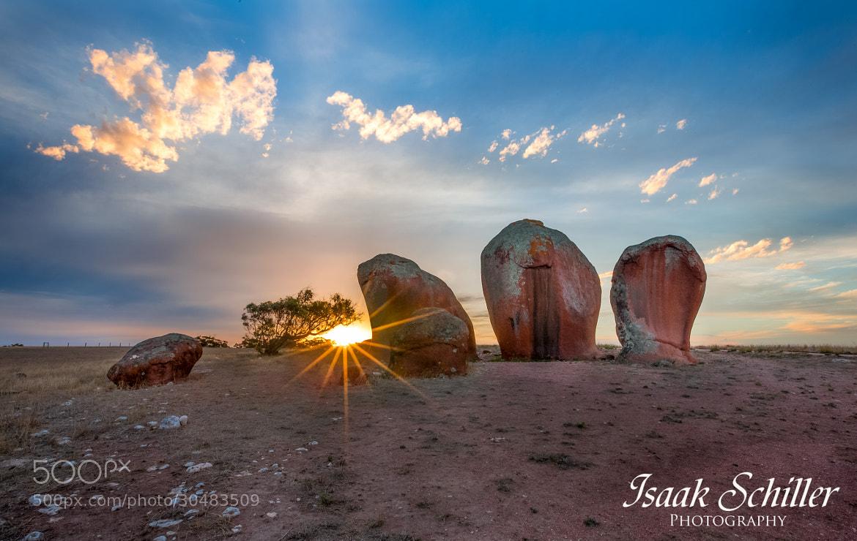 Photograph Murphey's Haystacks by Isaak  Schiller on 500px
