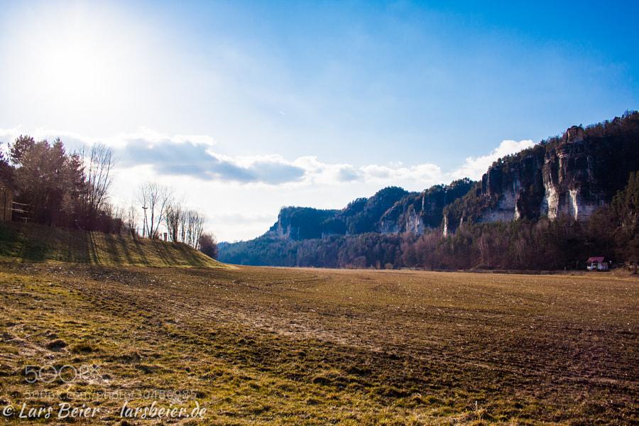 Fahrradtour zur Sächsischen Schweiz - Teil IV: Ziel erreicht