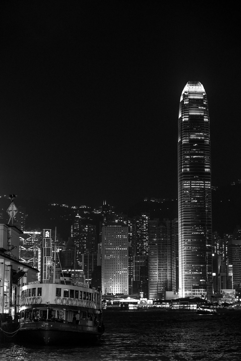 Photograph Ferry & Skyscrapers  by William Kong on 500px