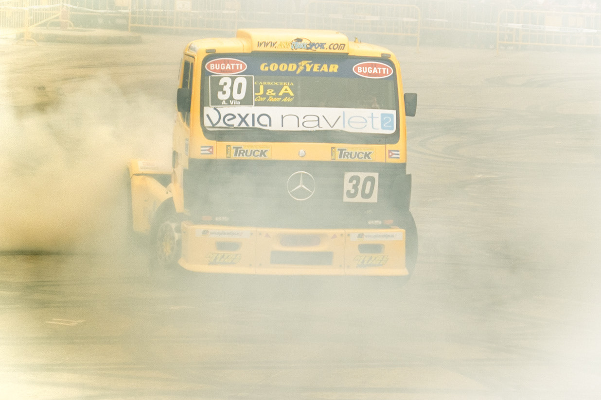 Photograph Truck Drifting by Pablo LaVegui on 500px