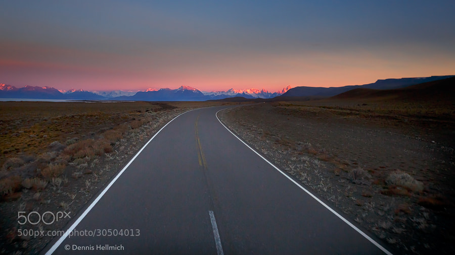 Photograph Road to Chaltén by Dennis Hellmich on 500px
