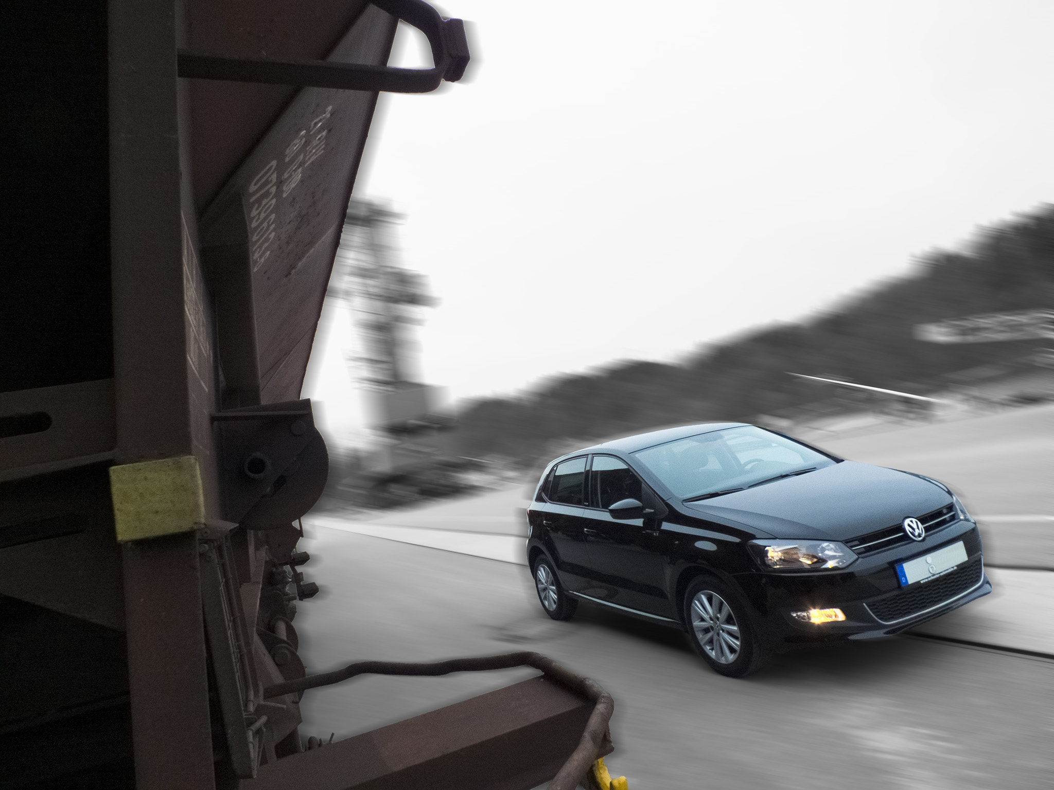 Photograph vw polo v type 6r black - style edition by DHα Photography on 500px