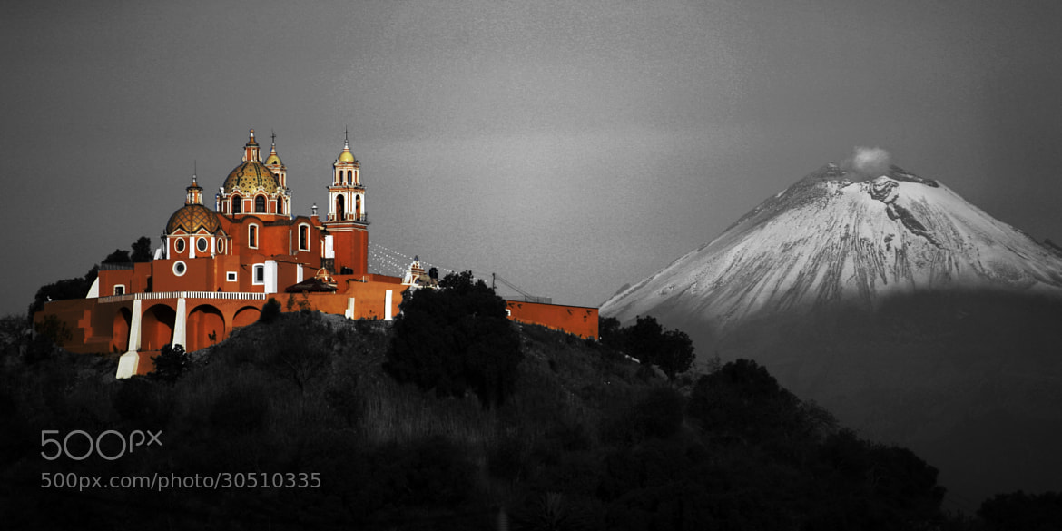 Photograph Church and Volcano by Cristobal Garciaferro Rubio on 500px