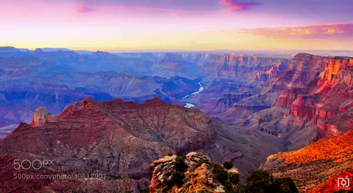 Photograph Grand Canyon Sunset by Nathan Jaffan on 500px