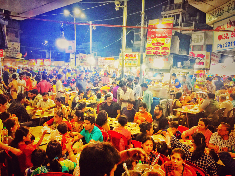 King of the Night Street Food by Vishal Vyas on 500px.com