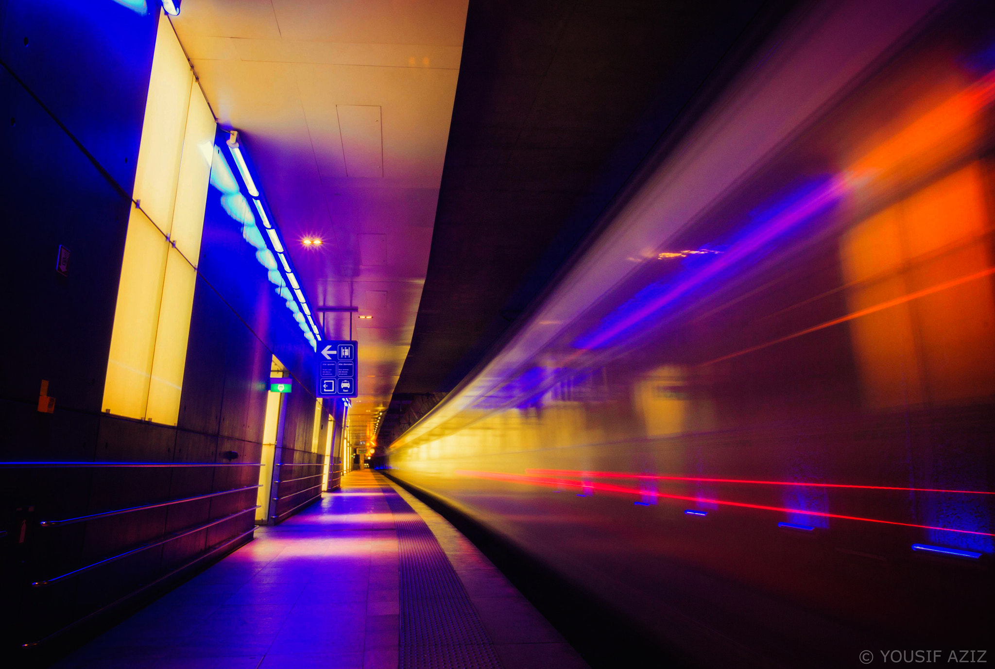 Photograph Metro by Yousif Aziz on 500px