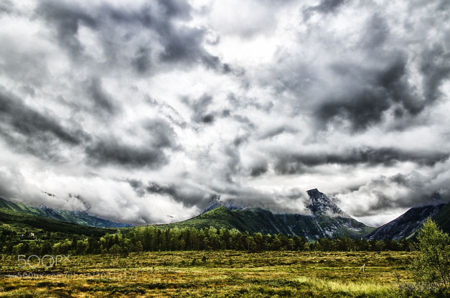 Photograph On a cloudy day by Vegard Hamar on 500px