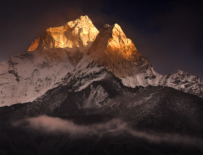Photograph Clearing Storm over Ama Dablam by Michael Anderson on 500px